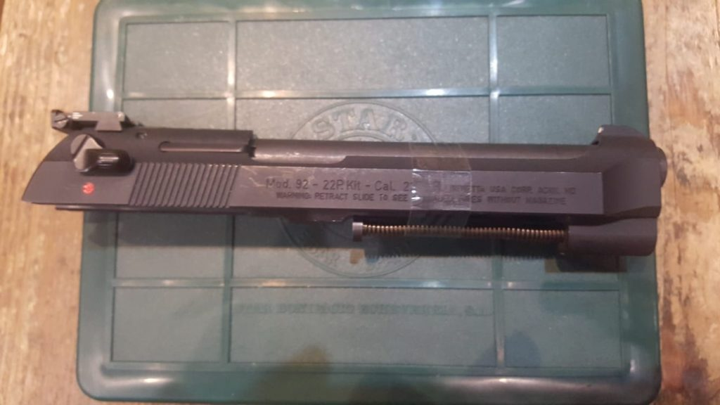 Conversor Beretta calibre 22