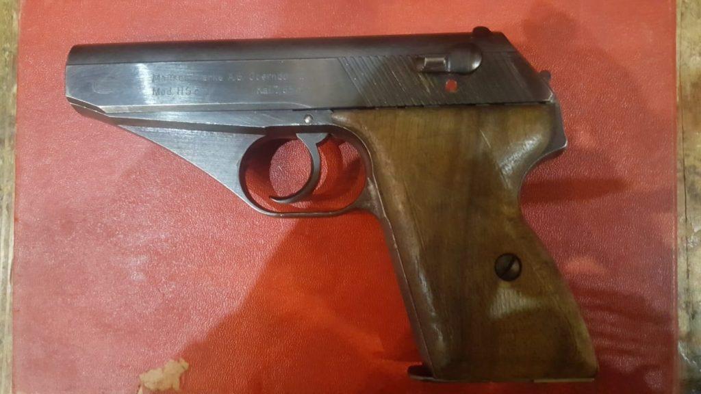 Pistola Mauser calibre 7.65