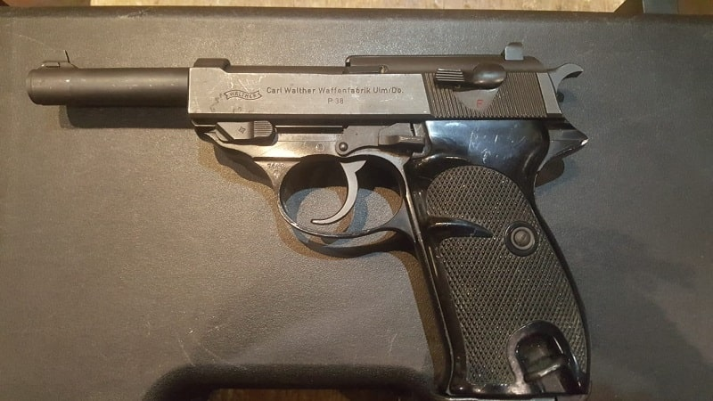 Pistola Walther 9 Pb